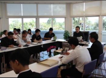 วิทยาลัยนานาชาติ จัดประชุมคณะกรรมการกิจการนักศึกษาและศิลปวัฒนธรรม ครั้งที่ 2/2560