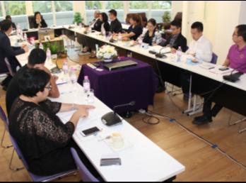 วิทยาลัยนานาชาติ ประชุมคณะกรรมการบริหารวิทยาลัยนานาชาติ ครั้งที่9/2560