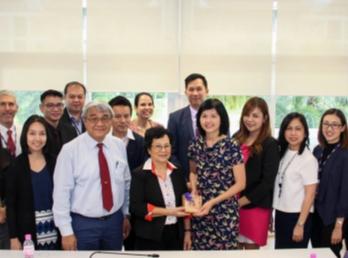วิทยาลัยนานาชาติ มรภ.สวนสุนันทา ต้อนรับและเข้าร่วมประชุมกับตัวแทนจาก Griffith University, Queensland Australia