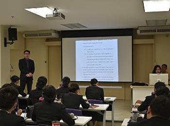วิทยาลัยนานาชาติ สาขาธุรกิจการบินจัดอบรมการเตรียม ความพร้อมก่อนฝึกประสบการณ์วิชาชีพ
