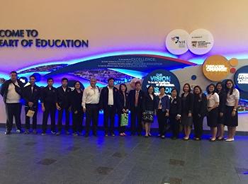 ผู้บริหารและบุคลากร วิทยาลัยนานาชาติ มหาวิทยาลัยราชภัฏสวนสุนันทา เข้าดูงานด้านการศึกษาที่ National Institute of Education (NIE) ประเทศสิงคโปร์