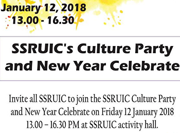 SSRUIC's Culture Party and New Year Celebrate