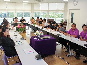วิทยาลัยนานาชาติ จัดประชุมชี้แจงแนวทางการดำเนินงานจัดการความรู้  บุคลากรสายสนับสนุนวิชาการ ประจำปีงบประมาณ พ.ศ. 2561