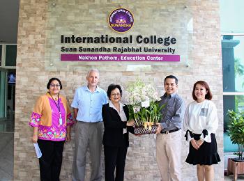 คณบดีวิทยาลัยนานาชาติ ประชุมเตรียมความพร้อมการดำเนินการศูนย์ส่งเสริมสตาร์ทอัพ และพัฒนาธุรกิจ ปีการศึกษา 2561