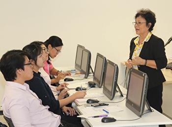 วิทยาลัยนานาชาติ มรภ.สวนสุนันทา จัดอบรมการใช้โปรแกรม Data Analysis with Fathom ในการพัฒนางานวิจัยให้กับบุคลากรสายวิชาการ และสายสนับสนุนวิชาการ