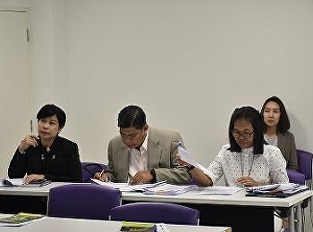 วิทยาลัยนานาชาติ มหาวิทยาลัยราชภัฏสวนสุนันทา ได้ต้อนรับคณะกรรมการ การตรวจเยี่ยมการเรียนการสอนประจำภาคเรียนที่ 2 ปีการศึกษา 2560 ครั้งที่ 1