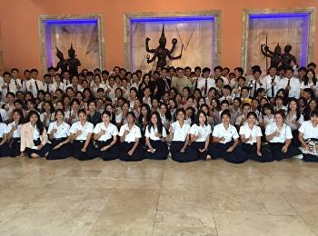 วิทยาลัยนานาชาติ มหาวิทยาลัยราชภัฏสวนสุนันทา นำนักศึกษาสาขาธุรกิจการบิน เข้าชมการแสดงวิพิธทัศนาและละครนอก ณ โรงละครแห่งชาติ