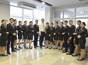 สาขาธุรกิจการบิน วิทยาลัยนานาชาติ มหาวิทยาลัยราชภัฏสวนสุนันทา จัดกิจกรรม SSRUIC In-Flight Services