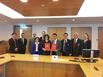 Signing Memorandum of Understanding (MOU)  With Griffith University in Australia