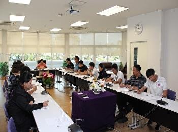 วิทยาลัยนานาชาติ ประชุมติดตามความก้าวหน้าการดำเนินงานการจัดการความรู้ บุคลากรสายสนับสนุนวิชาการ ประจำปีงบประมาณ พ.ศ. 2561