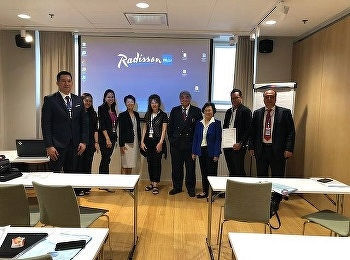 Asst. Prof. Dr. Thongthong Khiriyan, Dean of International College Presented at the International Symposium International Academic Multidisciplinary Research Conference in Helsinki Republic of Finland