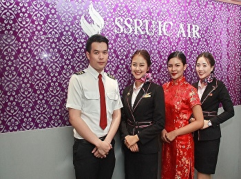 In-flight Service is a challenging project for 4th year students of Airline Business Program who attend the class of Cabin Crew Management. News.