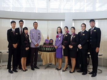 SSRUIC Airline Business joined with Thai Airways in Loy Krathong Festival News.