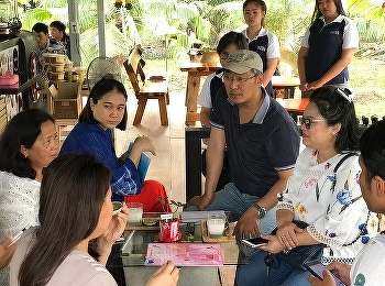 Tourism Management Program student visited  Tha Kha Community, Samut Songkhram.