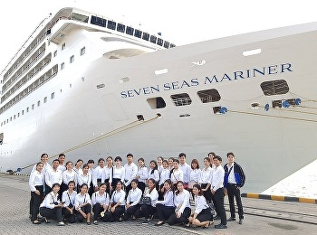 Let's take a look at some of the nice photos here, shot from our latest activity joined with Regent Seven Seas Mariner, docked at Laem Chabang Port in Chonburi Province, on February 25, 2019.