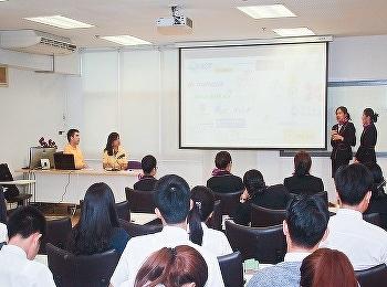 วิทยาลัยนานาชาติ จัดกิจกรรมการนำเสนอผลงานหลังการฝึกประสบการณ์วิชาชีพ ของนักศึกษาสาขาธุรกิจการบิน