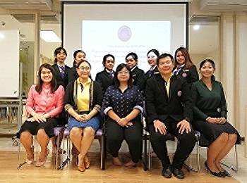 อาจารย์สาขาการจัดการท่องเที่ยวจัดโครงการปฐมนิเทศน์ก่อนการฝึกประสบการณ์วิชาชีพในรายวิชา 4539 Preparation for Internship in Tourism Industry ปีการศึกษา 2562