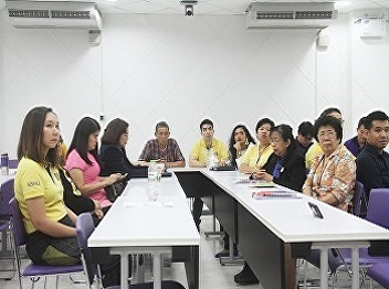 International College, Suan Sunandha Rajabhat University, arranged the research potential development project, for the fiscal year 2019