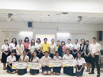 1st and 4th Year Tourism Management Students, SSRUIC, joined Language Contest#1 at Faculty of Liberal Arts, Rajamangala University of Technology Rattanakosin