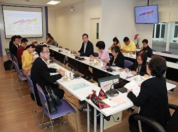 วิทยาลัยนานาชาติ มหาวิทยาลัยราชภัฏสวนสุนันทา จัดการประชุมคณะกรรมการบริหาร ครั้งที่ 8/2562  ณ ห้องประชุมอาคารวิทยาลัยนานาชาติ