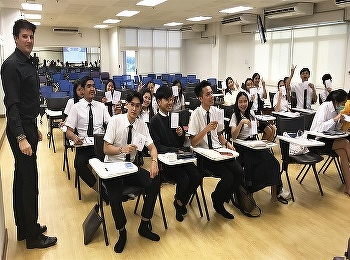 International college Suan Sunandha Rajabhat University In the field of aviation business Organized the Tactics for TOEIC in 48 hours