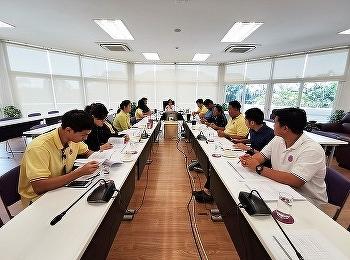 วิทยาลัยนานาชาติ มหาวิทยาลัยราชภัฏสวนสุนันทา จัดประชุมคณะกรรมการปฏิบัติงานตามตัวชี้วัด ประจำปีงบประมาณ พ.ศ. 2563 ณ ห้องประชุม 208