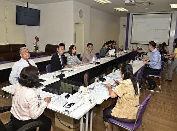 วิทยาลัยนานาชาติ มหาวิทยาลัยราชภัฏสวนสุนันทา จัดประชุมคณะกรรมการบริหารวิทยาลัยนานาชาติ ครั้งที่ 9/2562 ณ ห้องประชุม 208 อาคารวิทยาลัยนานาชาติ มหาวิทยาลัยราชภัฏสวนสุนันทา ศูนย์การศึกษาจังหวัดนครปฐม