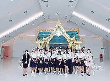 Tourism Management International college Suan Sunandha Rajabhat University a project to learn about etiquette of Western food at Novotel Suvarnabhumi Hotel