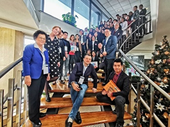 International college Suan Sunandha Rajabhat University Attended the Academic Conference on Educational & Social Innovations Ac-ESI-2019 + in Czech Republic.