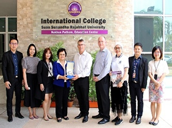 nternational college Suan Sunandha Rajabhat University Welcoming the management team from PIHMS Pacific International Hotel Management School and the Managing Director of Worapanitan Co., Ltd.