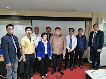 International College Suan Sunandha Rajabhat University organized a meeting to set the direction in cooperation with Thai Aerospace Industries Co., Ltd. to develop aviation business courses