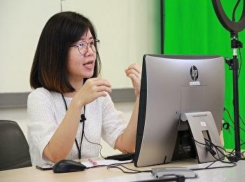 """วิทยาลัยนานาชาติ มหาวิทยาลัยราชภัฏสวนสุนันทา จัดกิจกรรมตอบคำถาม """"ข้อเสนอแนะการเตรียมเนื้อหาบทเรียน เพื่อจัดทำสื่อการสอนออนไลน์"""" ผ่านช่องทางออนไลน์ในFacebook สำหรับให้ผู้เข้าร่วมอบรมโครงการพัฒนาและส่งเสริมการเรียนรู้ผ่านการเรียนออนไลน์ กิจกรรมส่งเสริมครูเพ"""