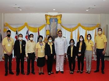 วิทยาลัยนานาชาติ มหาวิทยาลัยราชภัฏสวนสุนันทา นำโดย ผู้ช่วยศาสตราจารย์ ดร.กรองทอง ไคริรี พร้อมด้วยผู้บริหาร เข้าร่วมพิธีถวายพระพร เนื่องในวันเฉลิมพระชนมพรรษาพระบาทสมเด็จพระปรเมนทรรามาธิบดีศรีสินทร มหาวชิราลงกรณฯ พระวชิรเกล้าเจ้าอยู่หัว