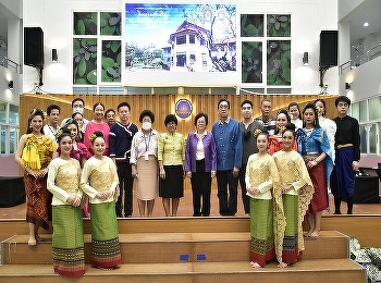 International College Suan Sunandha Rajabhat University Has organized academic services in the project of activities promoting learning Thai culture and royal ways To elementary and junior high school students of schools in the vicinity of the college